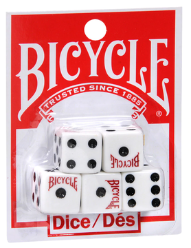 Merz 67 LLC BICYCLE DICE (Set of 5)