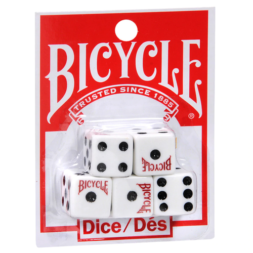 Bicycle BICYCLE DICE (Set of 5)