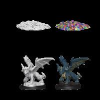 MINIS: D&D: BLUE DRAGON WYRMLING