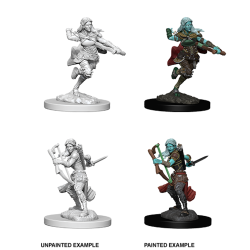Wizkids MINIS: D&D: AIR GENASI FEMALE ROUGE