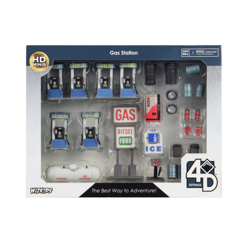 Wizkids MINIS: 4D SETTINGS: GAS STATION