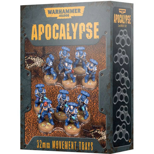 Games Workshop 40K APOCALYPSE 32MM M/TRAYS