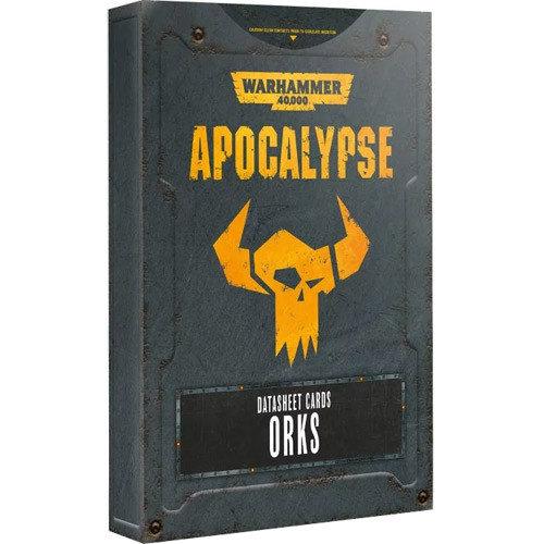 Games Workshop 40K APOCALYPSE ORKS D/SHEET