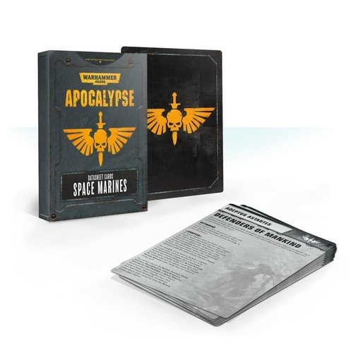 Games Workshop 40K APOCALYPSE SM D/SHEET