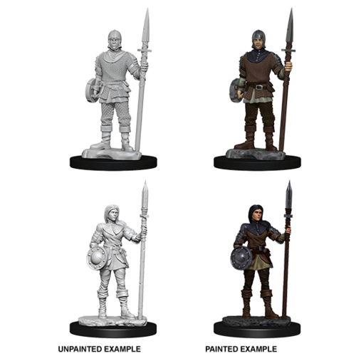 Wizkids MINIS: DEEP CUTS: GUARDS (WITH SPEARS)