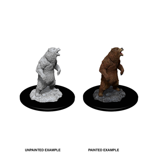 Wizkids MINIS: DEEP C UTS: GRIZZLY