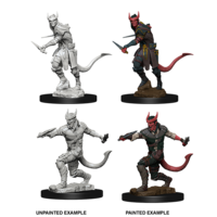 MINIS: D&D: TIEFLING MALE ROGUE