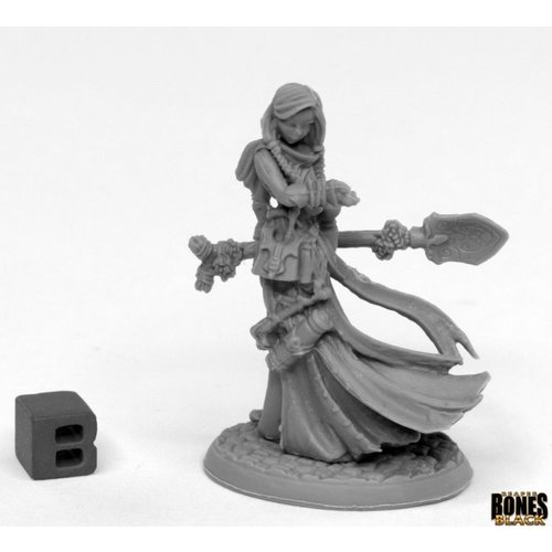 Reaper Miniatures BONES BLACK: VANDRA LUKESIA