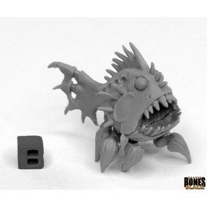 Reaper Miniatures BONES BLACK: TERROR FISH