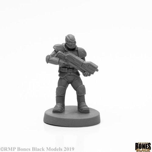 Reaper Miniatures BONES BLACK: RACH SOLDIER