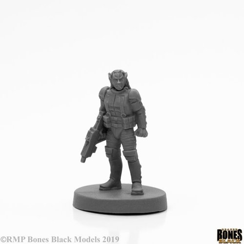 Reaper Miniatures BONES BLACK: MALVERNIS SOLDIER