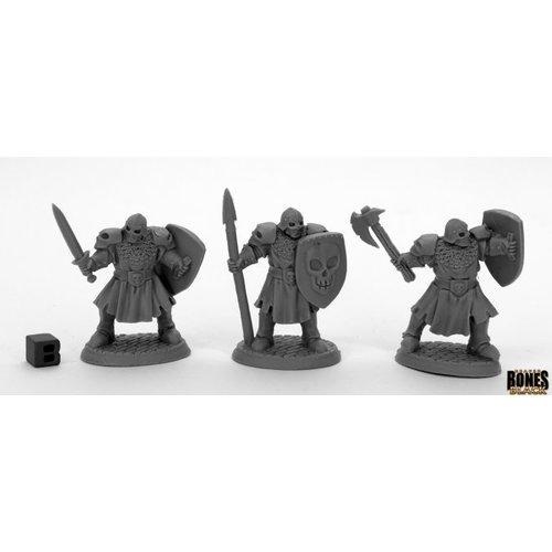 Reaper Miniatures BONES BLACK: MAGGOTCROWN MEN