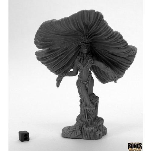 Reaper Miniatures BONES BLACK: FUNGAL QUEEN