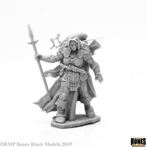 Reaper Miniatures BONES BLACK: FROST GIANT RANGER