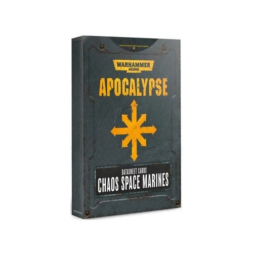 Games Workshop 40K APOCALYPSE CSM D/SHEET