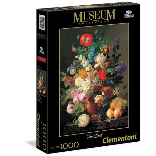 Clementoni CL1000 VAN DAEL - BOWL OF FLOWERS
