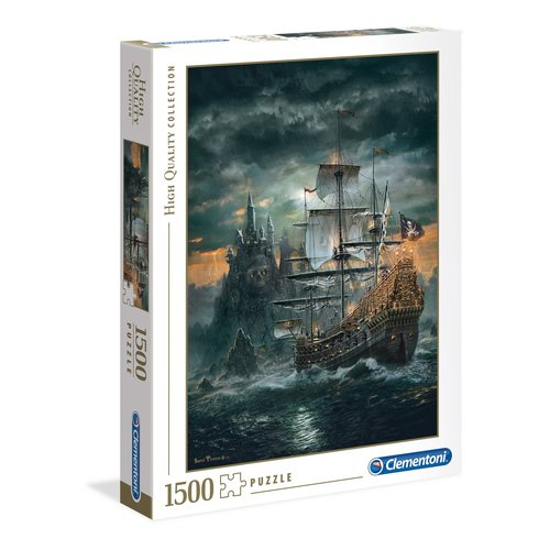 Clementoni CL1500 THE PIRATE SHIP