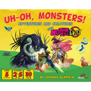 Monte Cook Games NO THANK YOU EVIL!: UH-OH MONSTERS!