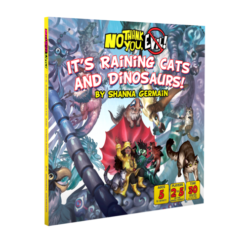 Monte Cook Games NO THANK YOU EVIL!: IT'S RAINING CATS AND DINOSAURS