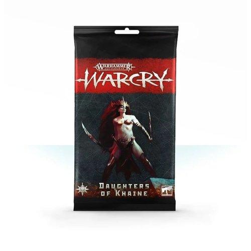 Games Workshop WARCRY: DAUGHTERS CARD PACK