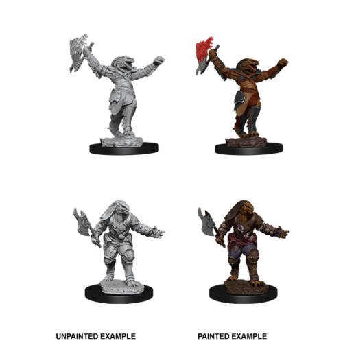 Wizkids MINIS: D&D: DRAGONBORN FEMALE FIGHTER (AXE & MAGIC AXE)