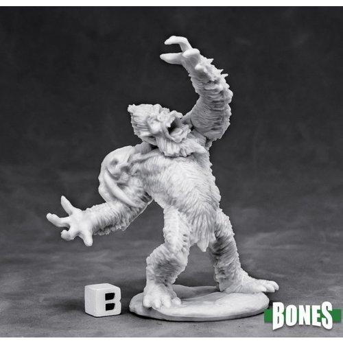 Reaper Miniatures BONES: YETI CHIEFTAIN