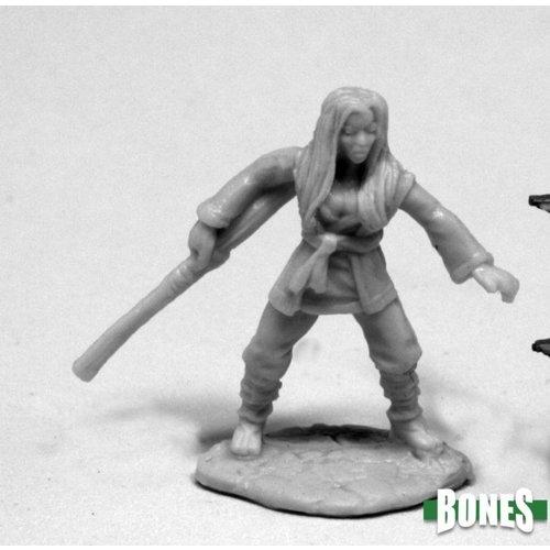 Reaper Miniatures BONES: XIAO LIU FEMALE MONK