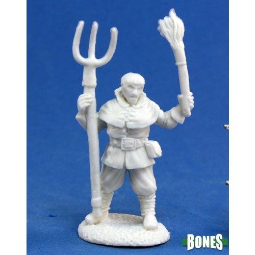 Reaper Miniatures BONES: TOWNSFOLK: VILLAGE RIOT