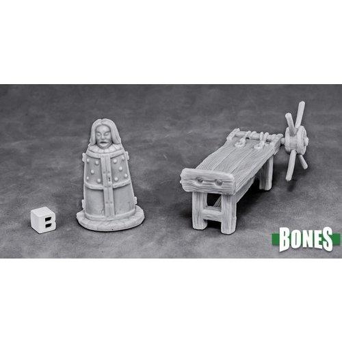 Reaper Miniatures BONES: TORTURE EQUIPMENT 2