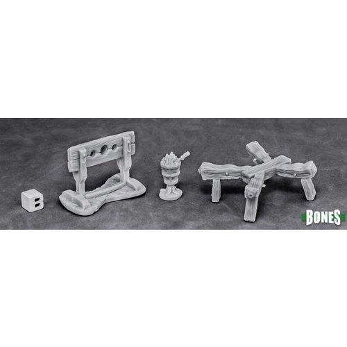 Reaper Miniatures BONES: TORTURE EQUIPMENT 1