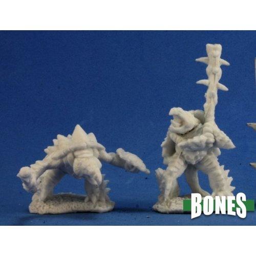Reaper Miniatures BONES: SPIKESHELLS WARRIORS (2)