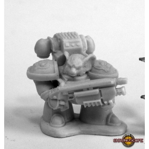 Reaper Miniatures BONES: SPACE MOUSLING LOOK RIGHT
