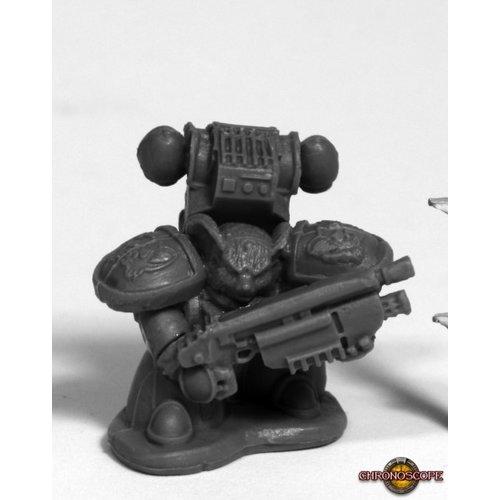 Reaper Miniatures BONES: SPACE MOUSLING GUN