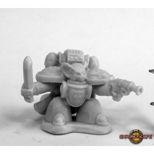 Reaper Miniatures BONES: SPACE MOUSLING COMMAND