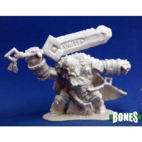 Reaper Miniatures BONES: SKORG IRONSKULL FIRE GIANT KING