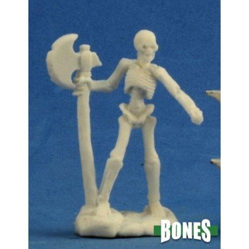 Reaper Miniatures BONES: SKELETON W AXEMEN (3)