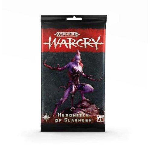 Games Workshop WARCRY: HEDONITES OF SLAANESH CARD PACK
