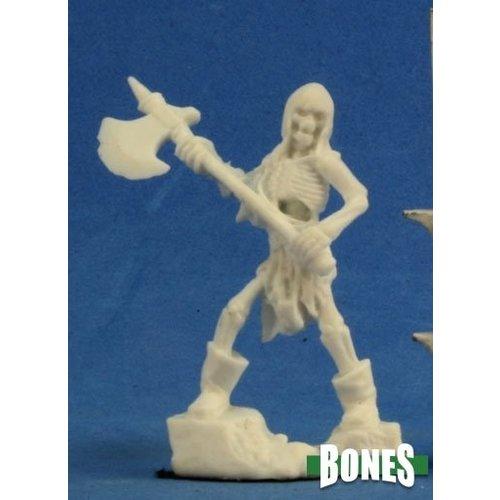 Reaper Miniatures BONES: SKELETON G AXEMEN (3)