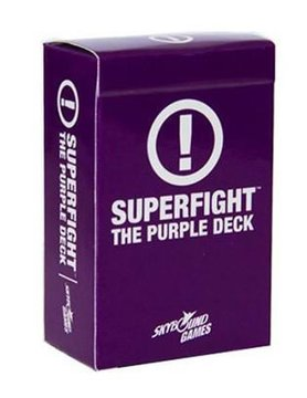 Skybound Entertainment SUPERFIGHT PURPLE DECK