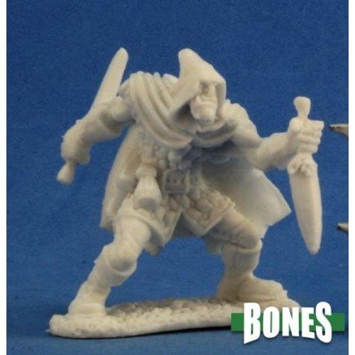 Reaper Miniatures BONES: ROGAN, HALF ORC ROGUE