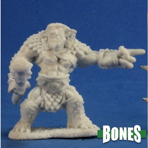 Reaper Miniatures BONES: RUGG, BUGBEAR LEADER