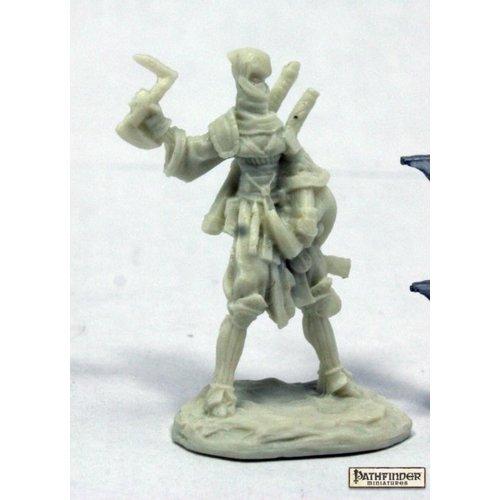 Reaper Miniatures BONES: PATHFINDER: REIKO, ICONIC NINJA