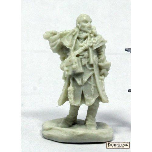 Reaper Miniatures BONES: PATHFINDER: QUINN, ICONIC INVESTIGATOR
