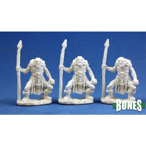 Reaper Miniatures BONES: ORC SPEARMEN (3)