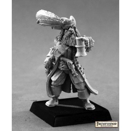 Reaper Miniatures PATHFINDER: CAPTAIN KERDAK BONEFIST