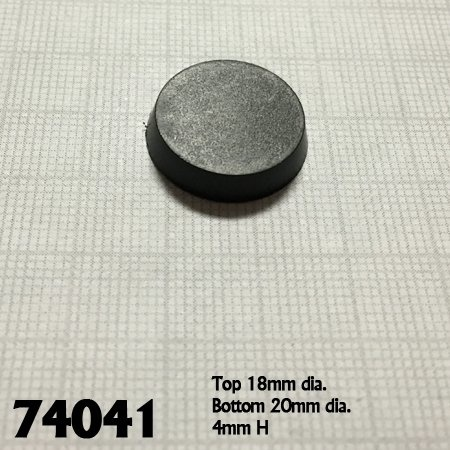 Reaper Miniatures BASES: 20mm ROUND (25)