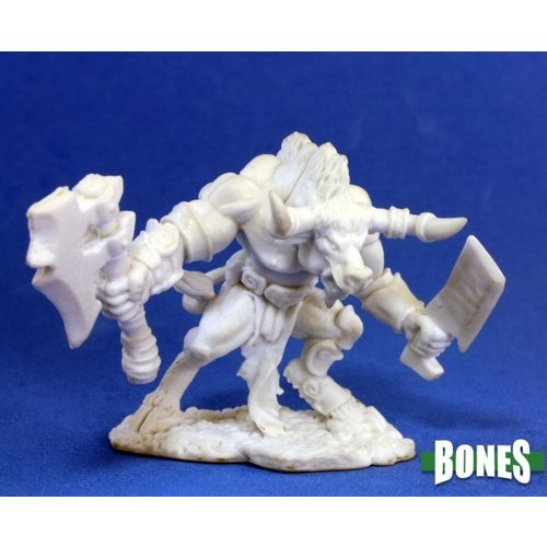 Reaper Miniatures BONES: MINOTAUR OF THE MAZE