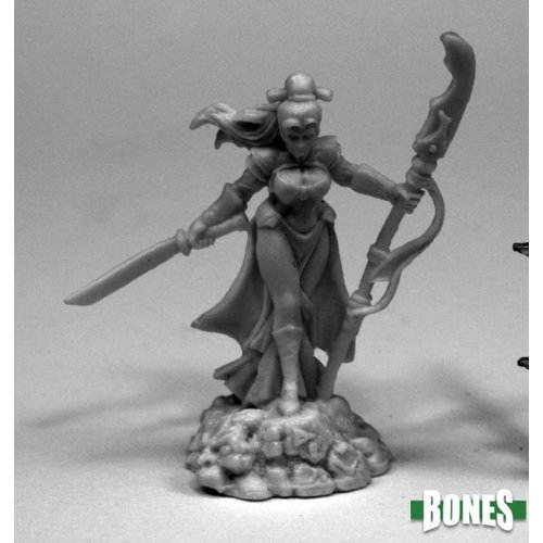 Reaper Miniatures BONES: MASUMI DEMON HUNTER
