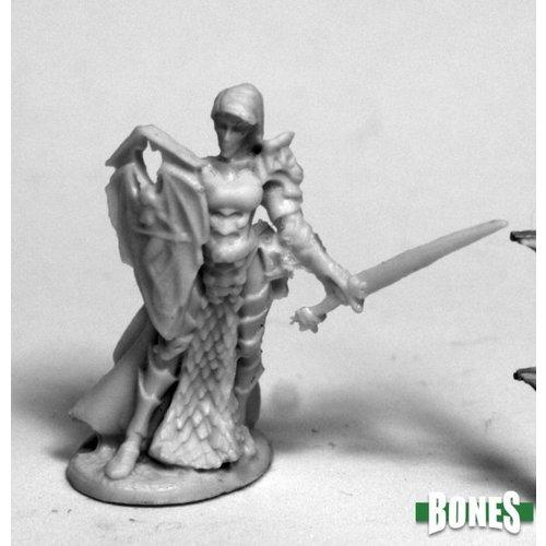 Reaper Miniatures BONES: MARA FROSTBLADE, ANTIPALADIN