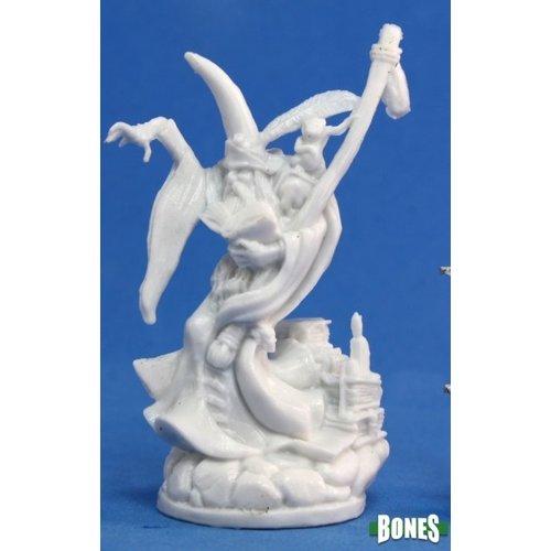 Reaper Miniatures BONES: KIERAN TALLOWMIRE, MALE WIZARD